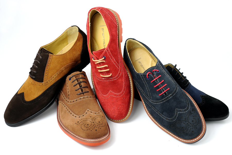 gt; Shoes > Brand > Steptronic > STEPTRONIC Faro Black Derby Shoes