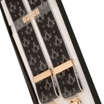 black and white masonic clip braces